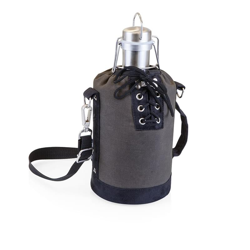 Growler Tote w/64 Oz. Stainless Steel Growler