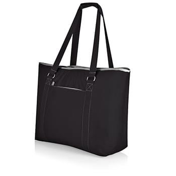 Tahoe Canvas Cooler Tote w/Zipper Pocket