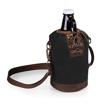 Growler Tote w/64 Oz. Glass Growler