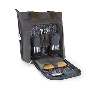 Sonoma Expandable Wine and Cheese Tote