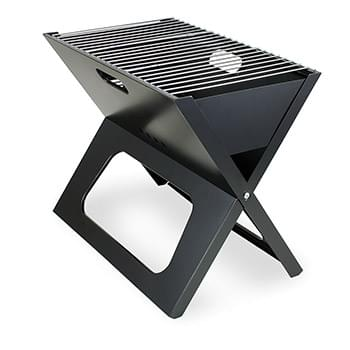 X-Grill Portable Charcoal BBQ Grill w/Carry Tote