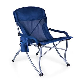 PT-XL Camp Chair, Extra-Wide, Extra-Comfort Portable Lounge Chair
